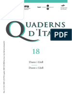 Cuaderns d'Italià - 18 (2013) - Dante e Llull