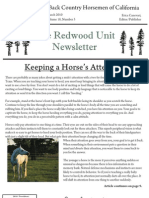 Redwood Unit Newsletter, March 2009 ~ Back Country Horsemen of California