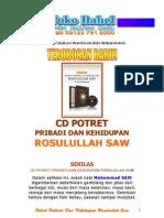CD Potret Pribadi Dan Kehidupan Rosulullah Saw