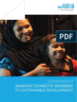 CONTRIBUTIONS OF MIGRANT DOMESTIC WORKERS TO SUSTAINABLE DEVELOPMENT