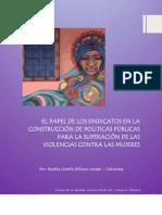 Políticas Públicas y Violencias Contra Las Mujeres en América Latina