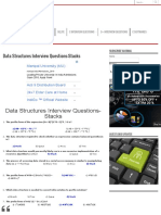 Data Structures Interview Questions-Stacks - BALUTUTORIALS