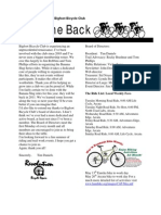 Bigfoot Bicycle Club Newsletter, Spring 2010