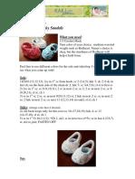 Kristi Simpson - Crochet Baby Moky Croky Sandals