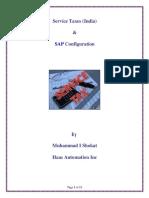 Service Taxes India and SAP Configuration (TAXINN)