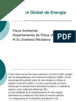 Balance Global de Energia