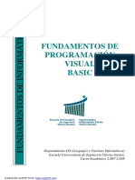 Visual Basic UPV Quimica 2007