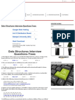 Data Structures Interview Questions-Trees - BALUTUTORIALS