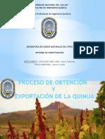 Proceso de Obtencion y Exportacion de La Quinua (2).Pptxuu