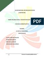 Diseño Organizacional y Sus Funciones