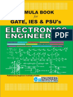 Electronics and Communication Ece Formula Book for Gate Ies and Psu