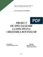 Proiect Bovine(Dutu Si Tata)