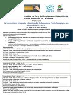 CARTAZ EM PDF - IV Seminario is Pesquisa PP Matematica 2016