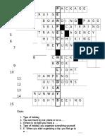 Key Crossword holidays