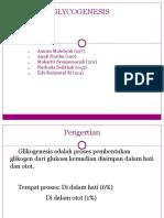 Glycogenesis bio