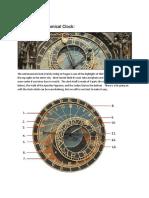 How to Read Prague's Astronomical Clock