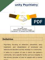Community Psychiatry - Dr Jateen - 3-7-15 (1).pptx