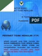 Faktor resiko PTM.ppt