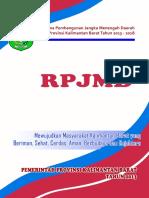 RPJMD Provinsi Kalimantan Barat 2013-2018