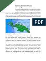 Sejarah Perkembangan Tektonik Di Papua