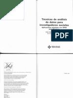 Tecnicas de Analisis de Datos Para Investigadores Sociales (Parte 1)