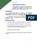Clase de Rayos X Analitica III 2016
