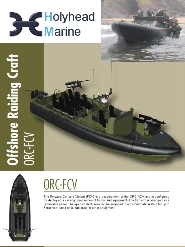 Resultado de imagen para Holyhead Marine 11 m Offshore Raiding Craft (ORC)