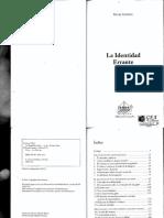 Atzmon, Gilad-La Identidad Errante. Ed. Canaán-2012