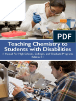 Teaching Chemistry to Students With Disabilities- A Manual for Hi