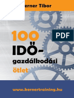100 Időgazdálkodási Ötlet eBook
