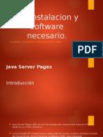 JSP Instalacion y Software Necesario