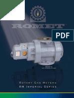 Romet Rotary Gas Meter