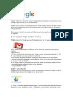 9 Aplicaiones de Google