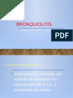 BRONQUIOLITIS  ppt