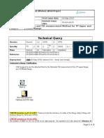 CSW NBW TQ 067 WTG-TP Flatness and Tilt Measurement Method R2