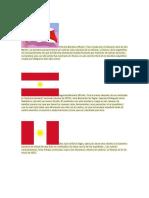 Primera Bandera Oficial