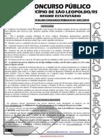 prefEITURA -SAO LeopOLDO