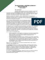 Marina Müller-Orientación Vocacional. Aportes Clínicos y Educacionales