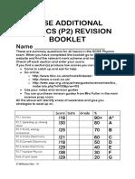 aqa p2 revision booklet