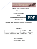 Caso de Analisis Empresa de Desperdicios Gerardo Hirlemann