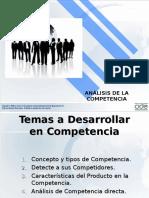 Semana 4 - Análisis de La Competencia