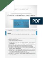 Regulasi Manajemen Proyek