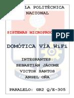 Domotica vía WiFi