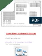 Apple iPhone 6 Schematic Diagram
