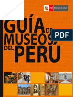 Guia de museos del Perú