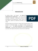 EL HECHO IMPUTABLE A LA ADMINISTRACION TRIBUTARIA