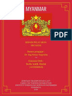 Tugas B (bisnis pelayaran) tentang negara Myanmar