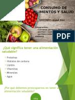 Consumo de alimentos y Salud