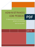 Joao Henrique Kiehn Livro Administrando Com Pessoas