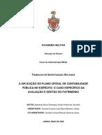 A Aplicação Do POCP No Exército - O Caso Especifico Da Avaliação e Gestão Do Património